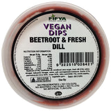 Fifya Vegan - Dips - Beetroot and Fresh Dill (250g)