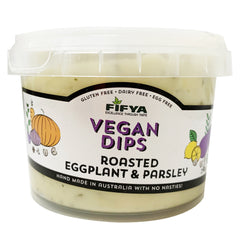 Fifya Vegan - Dips - Roasted Eggplant and Parsley (250g)