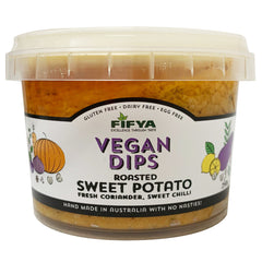 Fifya Vegan Roasted Sweet Potato Coriander and Sweet Chilli Dips 250g