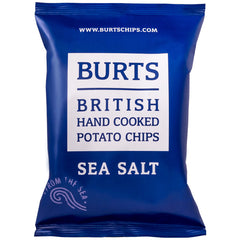 Burts Hand Cooked Potato Chips Sea Salt 150g