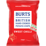 Burts Hand Cooked Potato Chips Sweet Chilli | Harris Farm Online
