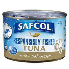 Safcol Tuna In Oil Italian Style 425g