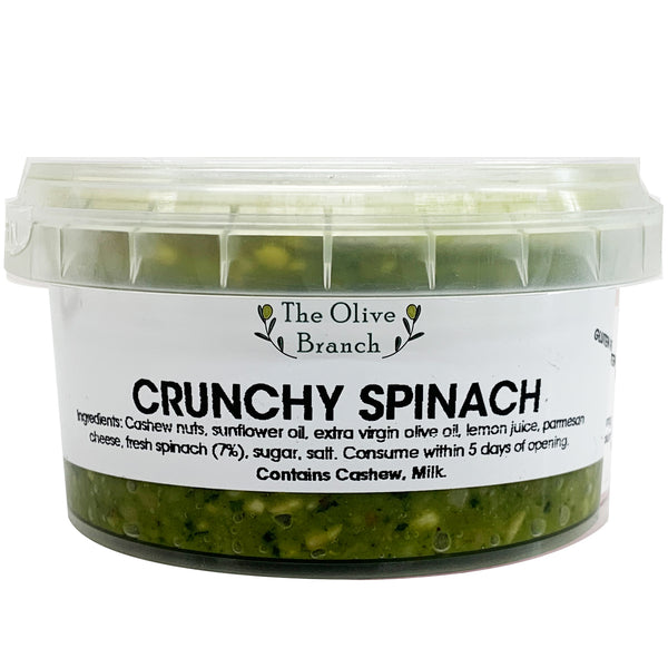 The Olive Branch Dips Crunchy Spinach | Harris Farm Online