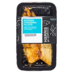 Harris Smokehouse Smoked Mackerel Fillets (150g-250g) , Frdg3-Seafood - HFM, Harris Farm Markets  - 1