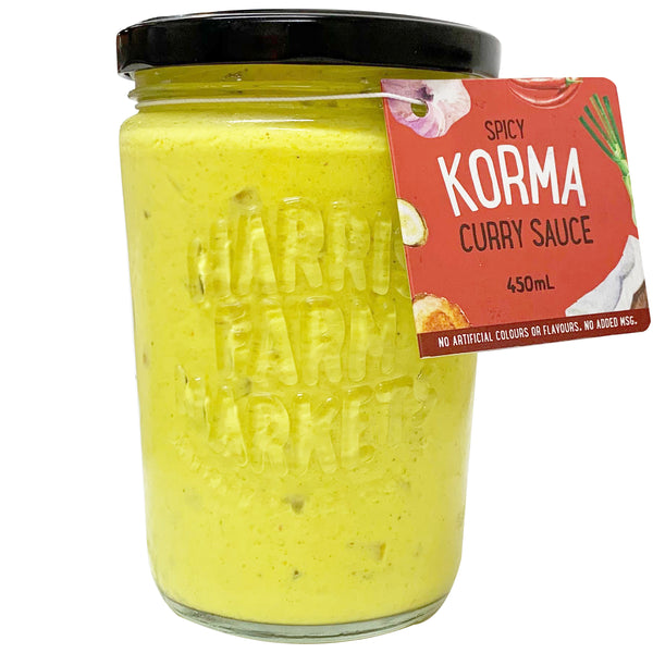 Harris Farm Sauce - Korma - Curry Sauce (450mL)