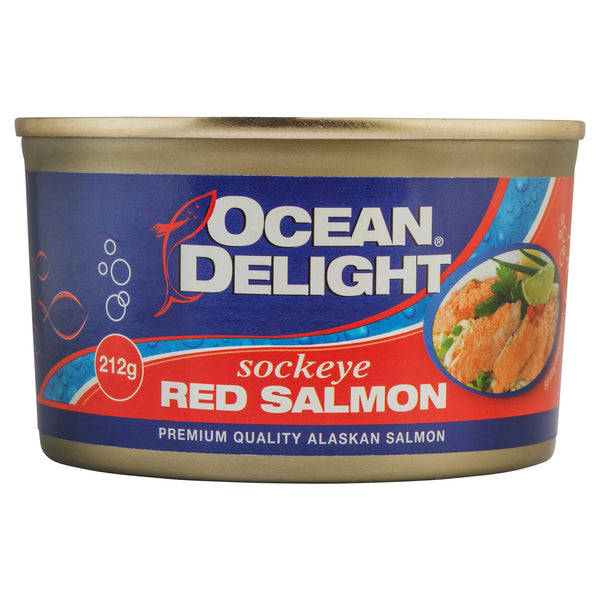 Ocean Delight Red Salmon 212g , Grocery-Seafood - HFM, Harris Farm Markets  - 1