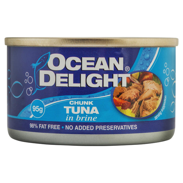 Ocean Delight Tuna in Brine 95g , Grocery-Can or Jar - HFM, Harris Farm Markets  - 1