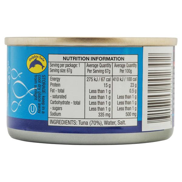 Ocean Delight Tuna in Brine 95g , Grocery-Can or Jar - HFM, Harris Farm Markets  - 2