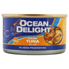 Ocean Delight Tuna In Oil 95g , Grocery-Can or Jar - HFM, Harris Farm Markets  - 1