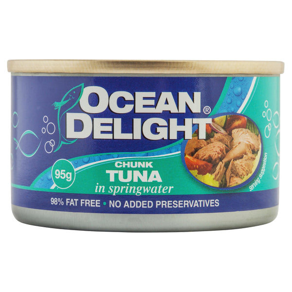 Ocean Delight Tuna In Spring Water 95g , Grocery-Can or Jar - HFM, Harris Farm Markets  - 1