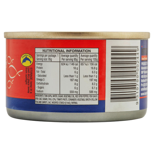 Ocean Delight Tuna Sweet Chill 95g , Grocery-Can or Jar - HFM, Harris Farm Markets  - 2
