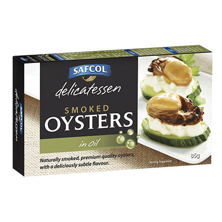 Safcol Smoked Oysters in Oil 85g
