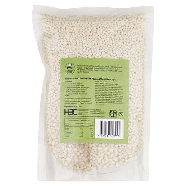 Chefs Choice Israeli Couscous 500g , Grocery-Spices - HFM, Harris Farm Markets  - 2