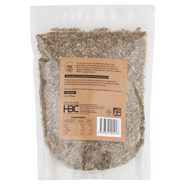 Chefs Choice Farro Wheat 500g , Grocery-Spices - HFM, Harris Farm Markets  - 2