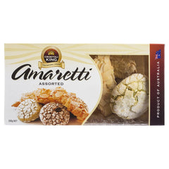 Crostoli King Amaretti Assorted 200g , Grocery-Biscuits - HFM, Harris Farm Markets  - 1