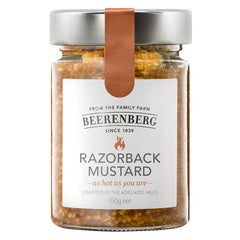 Beerenberg - Razorback Mustard - As Hot As You Are (150g)