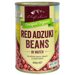 Chef's Choice - Organic Red Adzuki Beans - In Water | Harris Farm Online