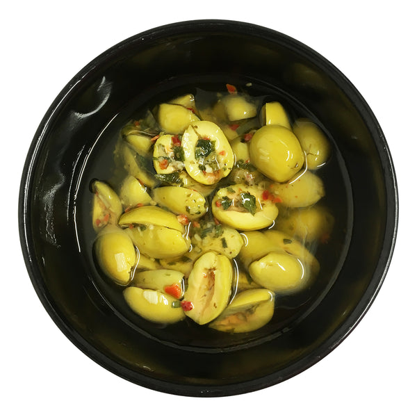 Harris Farm - Olives Green Split Chilli (250g)
