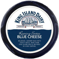 King Island Roaring 40's Blue Whole Wheel | Harris Farm Online