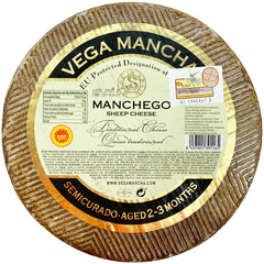Manchego Aged 3 Months Whole Wheel | Harris Farm Online