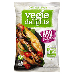 Vegie Delights - BBQ Sausages - 100% Meat Free (300g)
