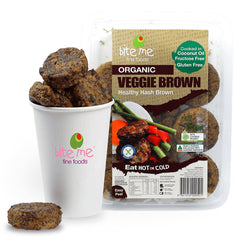 Bite Me Fine Foods - Hash Brown - Organic Veggie Brown (225g)
