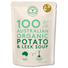 Australian Organic Food Co - Organic Soup - Potato & Leek (330g)