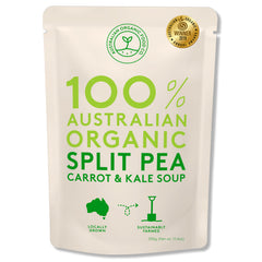 Australian Organic Food Co - Organic Soup - Split Pea, Carrot & Kale (330g)