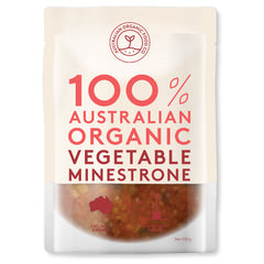 Australian Organic Food Co - Organic Soup - Vegetable Minestrone (330g)