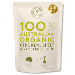 Australian Organic Food Co - Organic Soup - Chicken, Spelt and Vegetable (330g)