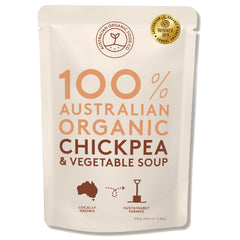 Australian Organic Food Co - Organic Soup - Chickpea & Vegetable (330g)