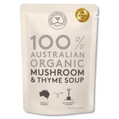 Australian Organic Food Co - Organic Soup - Mushroom & Thyme (330g)