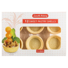 Lincoln Bakery Sweet Pastry Shells 12 x 60mm , Grocery-Cooking - HFM, Harris Farm Markets  - 1