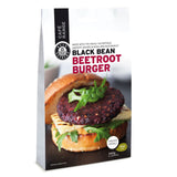 Bean Supreme - Beetroot Burgers - Black Bean (4 burgers, 340g)