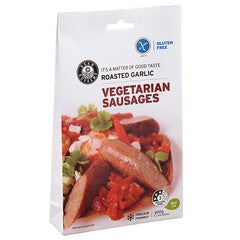 Bean Supreme - Vegetarian Sausages - Roasted Garlic (5 Sausages, 300g)