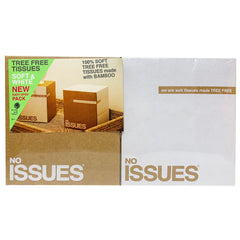 No Issues - Tissues - Tree Free (2 boxes, 3 ply, 60 Sheets ea)