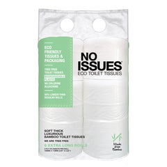 No Issues - Toilet Tissue - Tree Free (6 rolls, 3 ply, 275 Sheets)