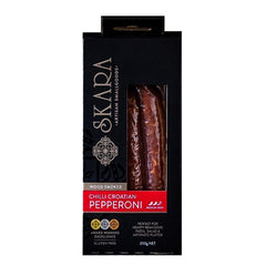Skara Woodsmoked Chilli Croatian Pepperoni | Harris Farm Online