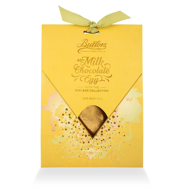 Butlers Milk Chocolate Egg with Mini Bar Collection | Harris Farm Online