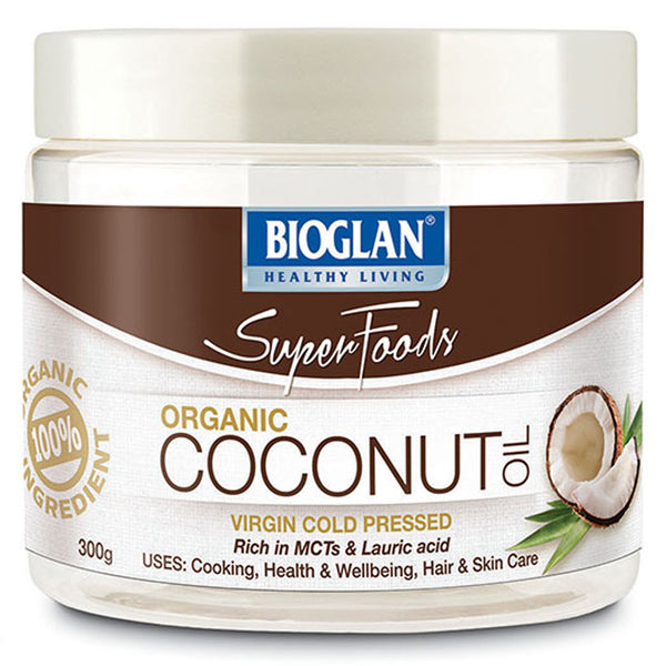 Bio Glan Super Foods Coconut Oil 300g , Grocery-Condiments - HFM, Harris Farm Markets