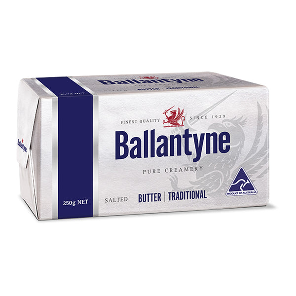 Ballantyne Butter - Block Salted Traditional | Harris Farm Online