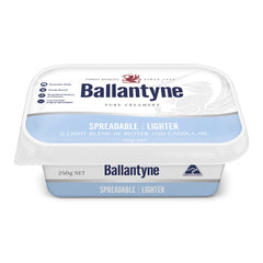 Ballantyne Butter - Spreadable Lighter Traditional | Harris Farm Online