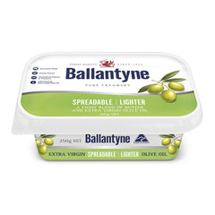 Butter Spreadable Lighter Olive Oil 250g Ballantyne , Frdg2-Dairy - HFM, Harris Farm Markets