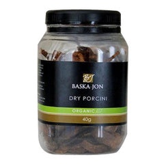 Mushrooms Porcini Dried Organic Baska Jon (40g)