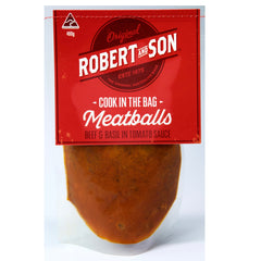 Beef Basil Meatballs Cook-in-bag 480g Robert & Son