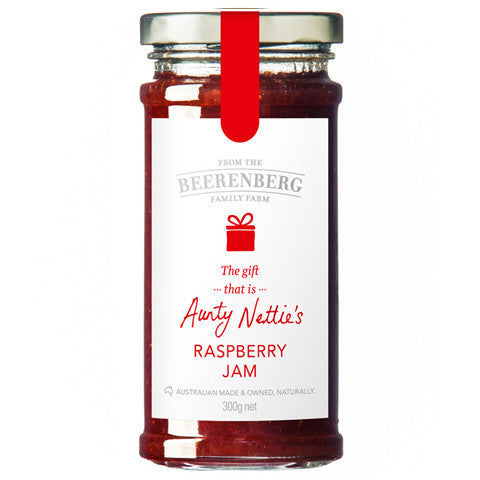 Beerenberg Raspberry Jam 300g , Grocery-Condiments - HFM, Harris Farm Markets