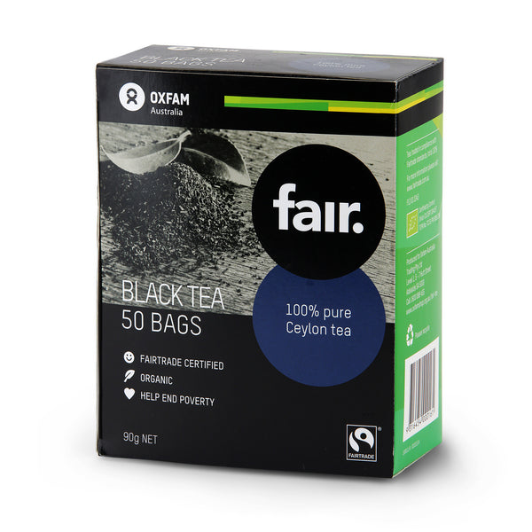 Oxfam Fair Pure Ceylon Black Tea 90g