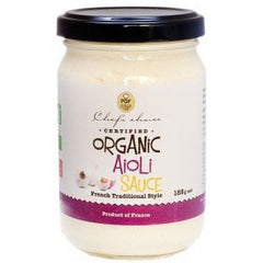 Chefs Choice Organic Aioli Sauce 185g , Grocery-Oils - HFM, Harris Farm Markets