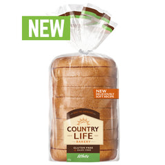 Country Life - Bread Gluten Free - White (400g)