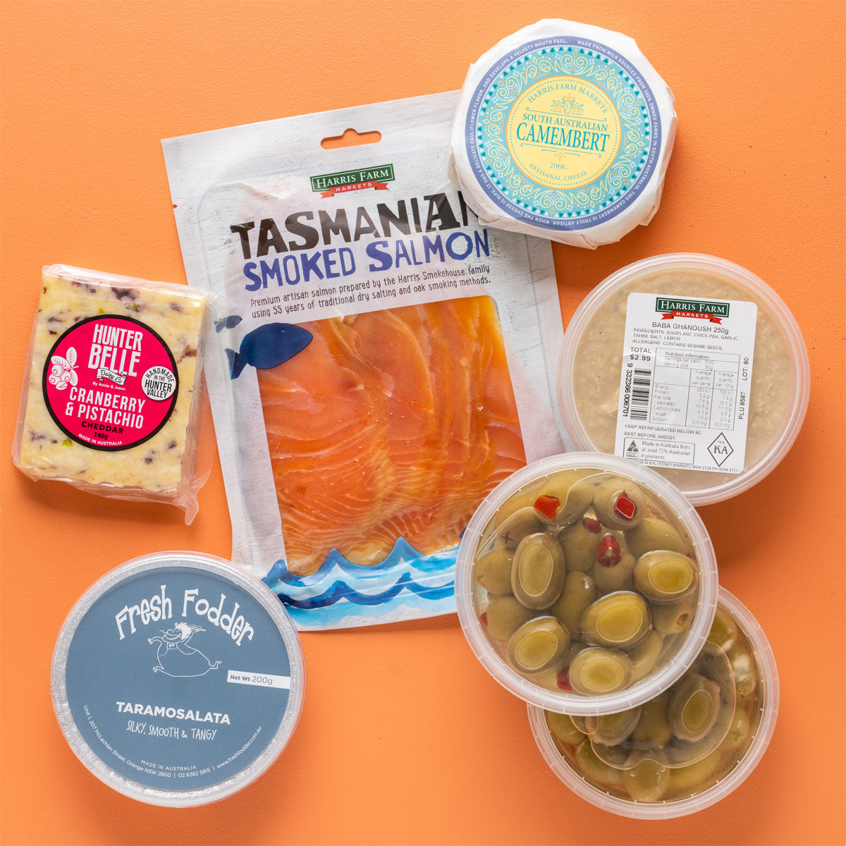 Entertaining Bundle with Cheese and Smoked Salmon | Harris Farm Online